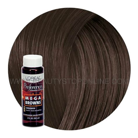 loreal preference mega browns cinnamon br beauty stop