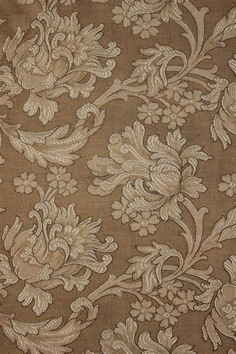Antique Upholstery by Antique Nouveau Woven Damask Fabric Panel