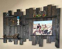 1000 ideas about unique wall shelves on pinterest wall With kitchen cabinets lowes with wall art using pallets