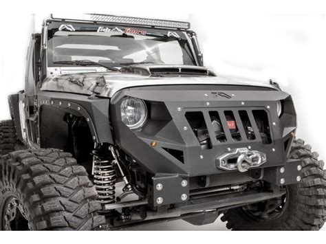 Fab Fours Front Grumper For Jeep Wrangler Jeeps
