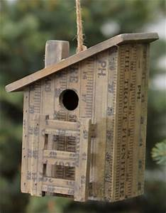 Backyard Poultry House Design Duncraft Com Measure Up Birdhouse With Slanted Roof