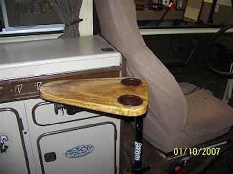 arm rest cup holder table   vanagon vanagon