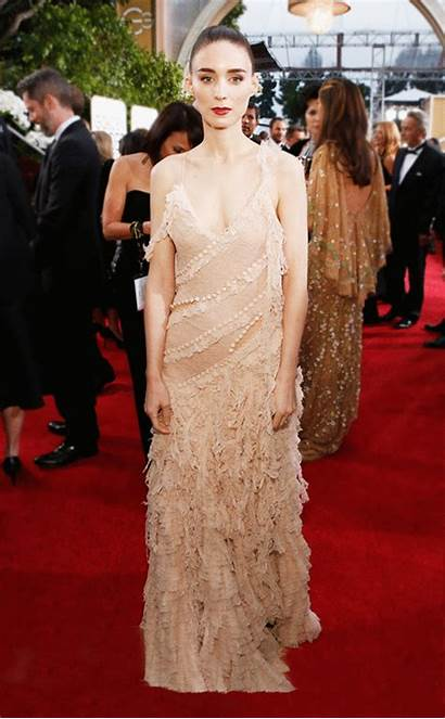 Rooney Mara Jennifer Lawrence Oscars Oscar Gown