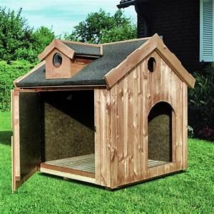 Hundehütte Für Drinnen : holz hundeh tte promadino max hundehaus ged mmte ~ Michelbontemps.com Haus und Dekorationen