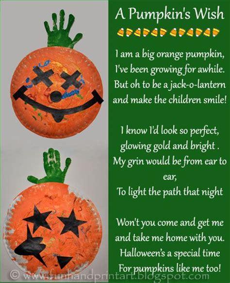 paper plate pumpkin handprint craft amp poem for 134 | e16c7064f80c1834d2d0fc967ef46d2b