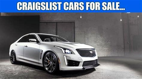 craigslist cars  sale youtube