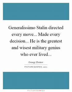 Georgy Zhukov Q... Military Genius Quotes