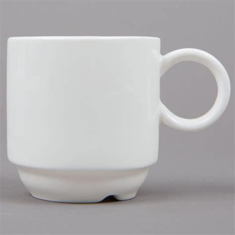 arcoroc arc daring cardinal porcelain stack oz cup case