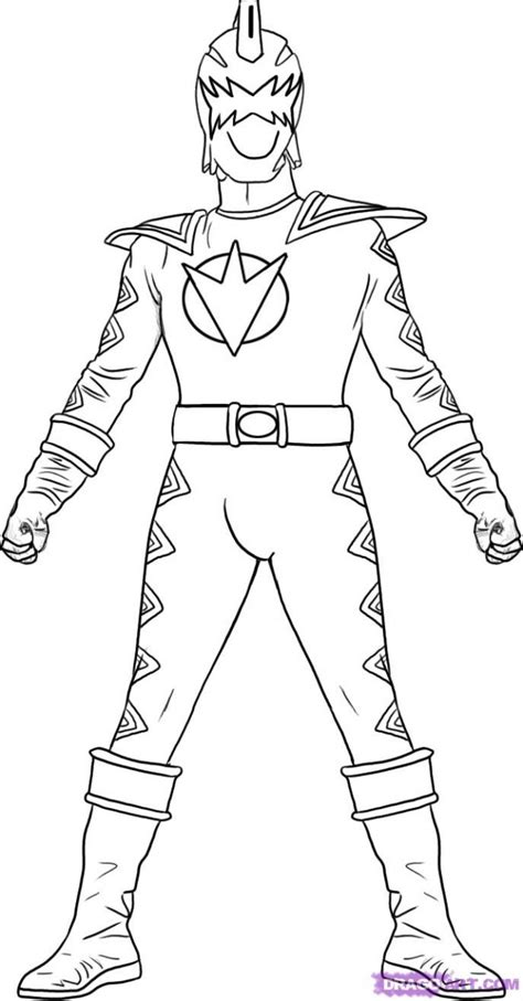 meilleur  coloriage power rangers ninja steel  imprimer