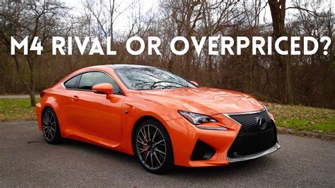 rcf lexus 2016 is the 2016 lexus rcf better than the bmw m4