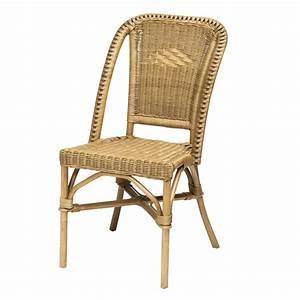 Chaise De Bar En Osier Maison Design