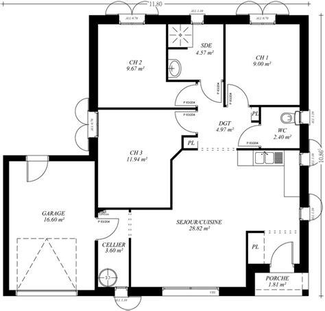 bureau virtuelle reims plan maison patio central 28 images maison avec patio