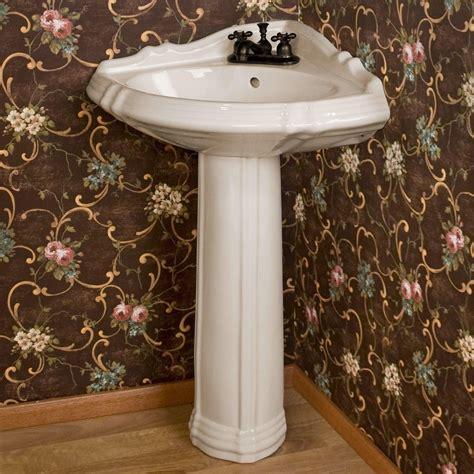 Corner Pedestal Bathroom Sinks by Regent Corner Pedestal Sink Starting At 179 95 Powder
