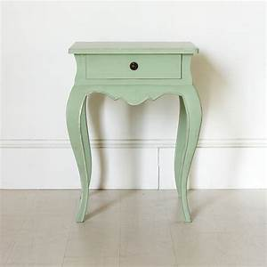 Vintage Green French Bedside Table By Out There Interiors