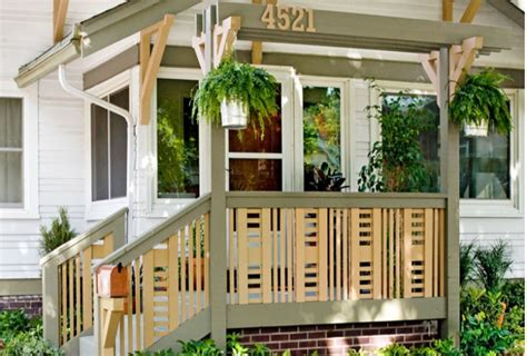 wood deck front porch design ideas steps stairs rails