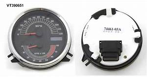 Speedometers Tachometers Mounting For Harley Davidson