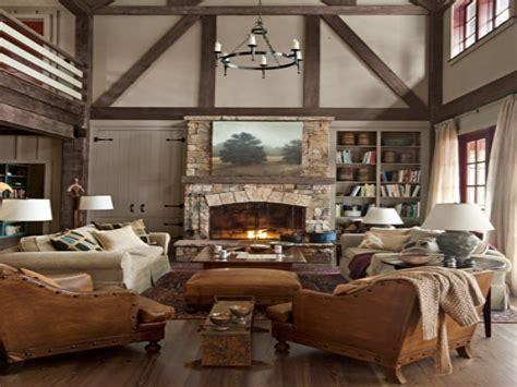Rustic Lake House Interiors