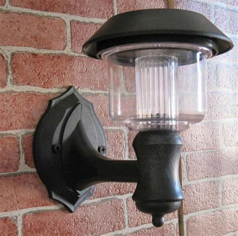 solar ls sconce modern outdoor wall lighting solar para