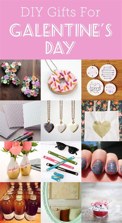 14 DIY gifts to make for Galentine's Day (With images ...