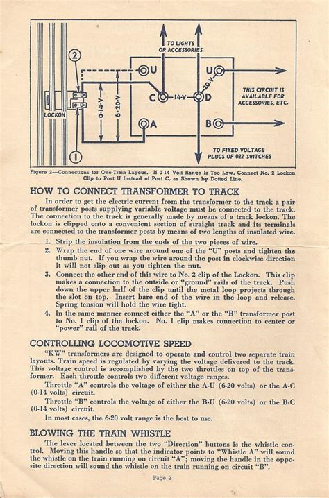 Lionel Transformer Type R Wiring Diagram by Need A Copy Of A Lionel Kw Transformer Manual O