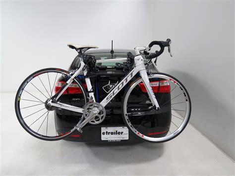 bike trunk rack thule passage 2 bike carrier trunk mount thule trunk