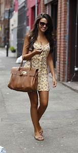 Michelle Keegan showing her hot tanned body wearing low ...