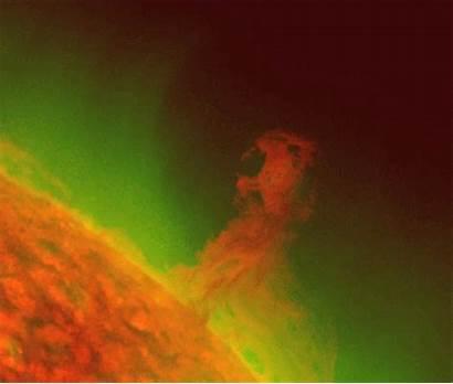 Plasma Filaments Solar Sun Modes Ionized Space