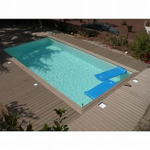 Piscine Bois Ubbink : piscine bois rectangulaire 500x1100cm linea toute quip e ~ Mglfilm.com Idées de Décoration