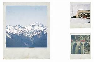 Polaroid Templates Vintage Polaroid Effects Textures On Creative Market