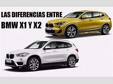 BMW X1 vs X2, conoce sus diferencias Motores
