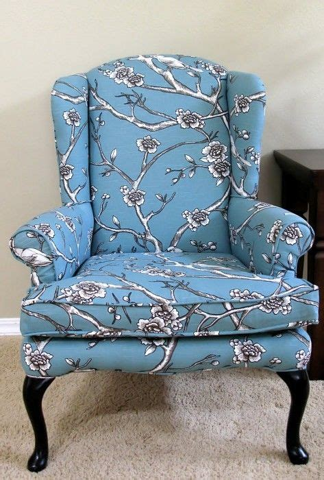 Reupholstering Fabric by Diy Reupholstering A Wing Back Chair Website Includes