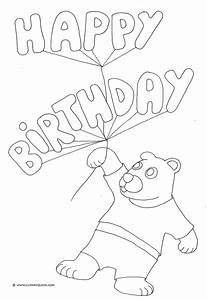 birthday painting Colouring Pages