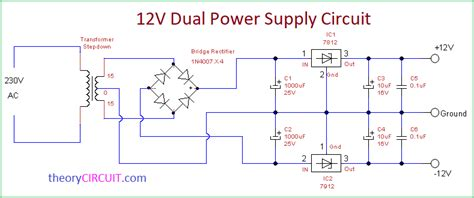 dual power supply circuit