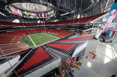 Atlanta Falcons New Mercedes Benz Stadium Has A Chick Fil
