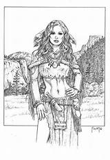 Coloring Pages Adult Woman Deviantart Native American Printable Drawing Line Wolf Indian Medicine Tattoo Mitchfoust Google Books Adults Sheets Foust sketch template