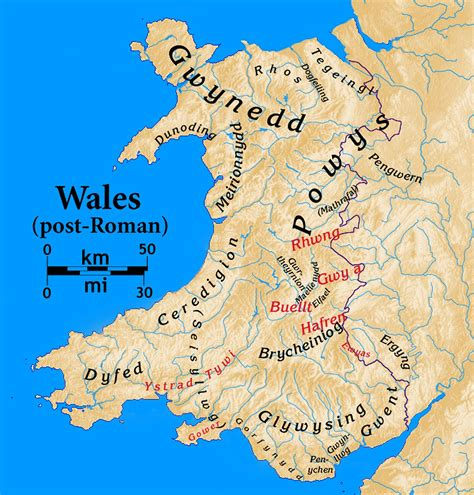 wales   early middle ages wikipedia