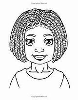 Coloring Pages African Sheets American Colouring Books Wright Woman Dana Clark Printable Adult Blank Lady Activity Fun Drawings Negras Da sketch template