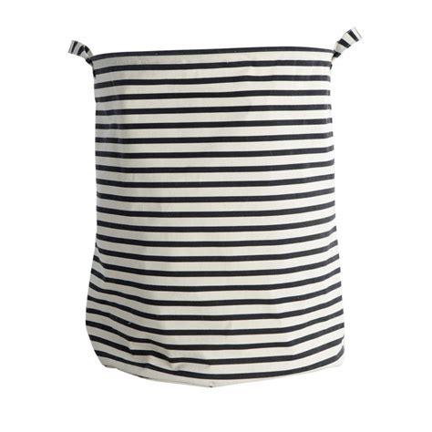 panier a linge house doctor panier 224 linge stripes en coton et polyester house doctor