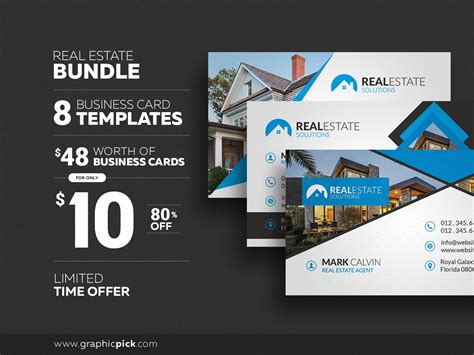 8 Real Estate Business Cards Business Card Template Avery Word Clip Art Free Download Design App Software Mac Samsung Wizard Scanner Pc