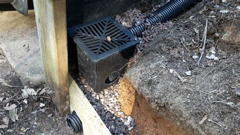 retaining wall drainage pipe building a retaining wall