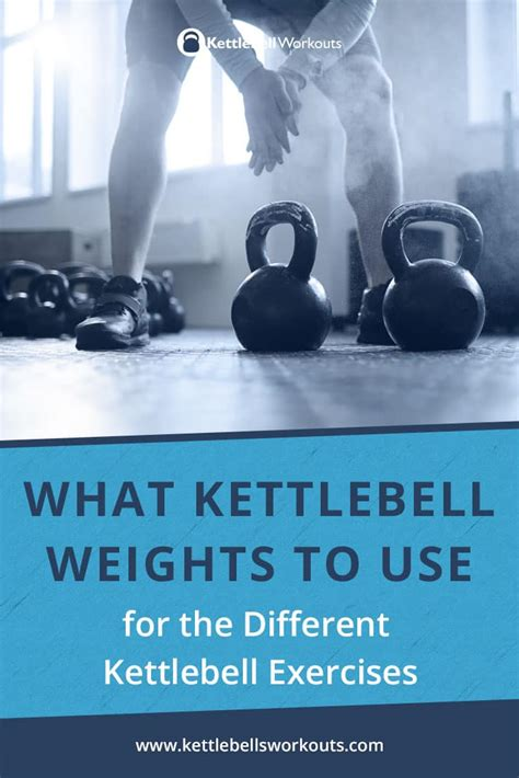 kettlebell weights exercises different weight wondering should then using which