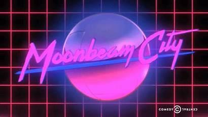Moonbeam Theme Moon Title Screen Vaporwave Welcome