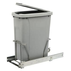 under sink garbage can track real solutions for real life 17 in h x 8 in w x 20 in d