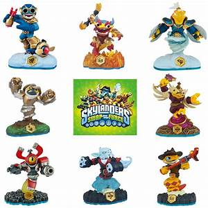 Skylanders Swap Force Swappable Characters Shape Shifters