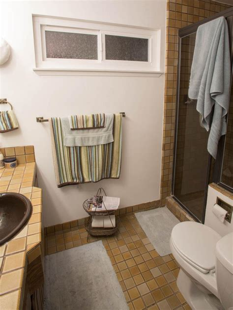 small bathroom   afters hgtv
