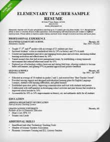 resume exles for high teachers teacher resume sles writing guide resume genius