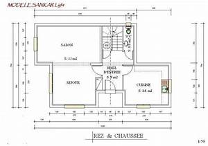 plan maison ossature metallique moderne modele sanka lingth With plan maison structure metallique