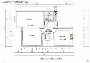plan maison ossature metallique moderne modele sanka lingth With plan maison structure metallique
