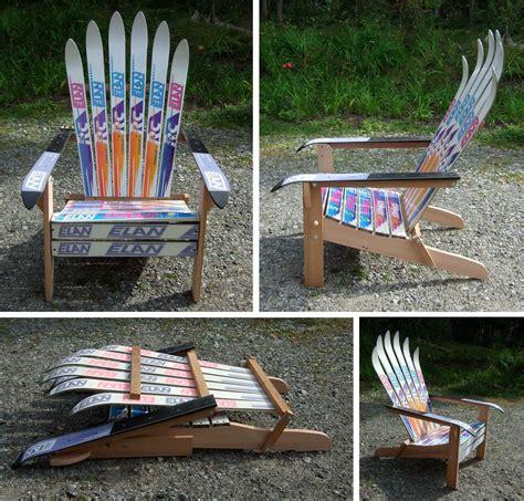 diy diy adirondack ski chair woodworking tool
