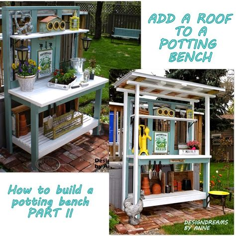 how to build a potting bench designdreams by how to build a potting bench part i